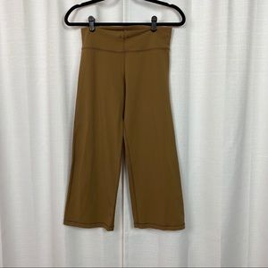 Lululemon Brown Relaxed Fit Crops Sz.6
